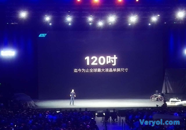 乐视推50万120吋电视之王!华硕发布三款ZenFone新机